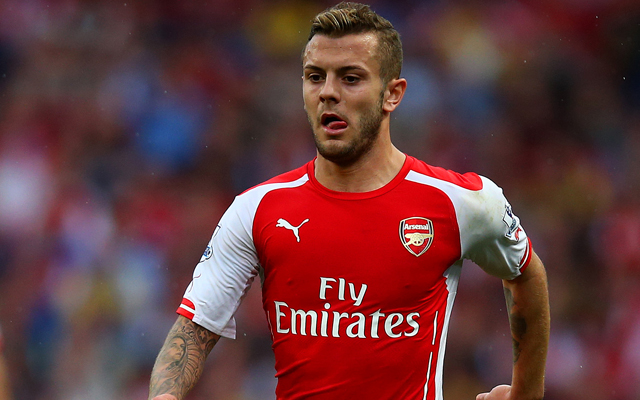 Arsenal will loan Jack Wilshere; Liverpool among potential options