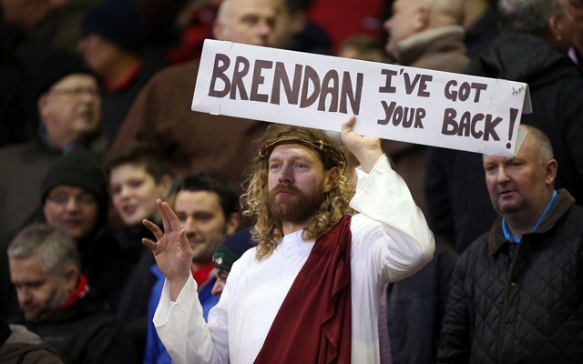 Liverpool have not lost in the Premier League since Jesus came to Anfield!