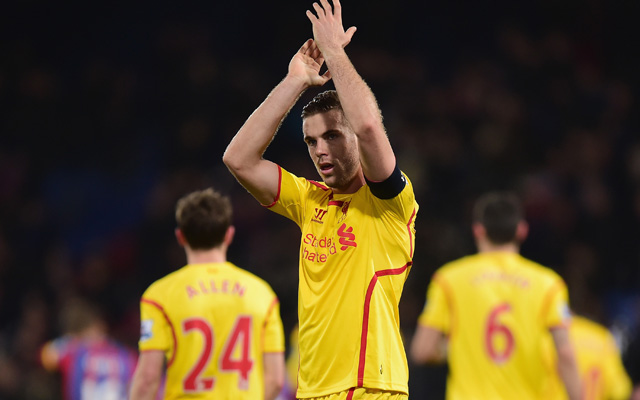 Jordan Henderson ready to commit to long-term Liverpool contract