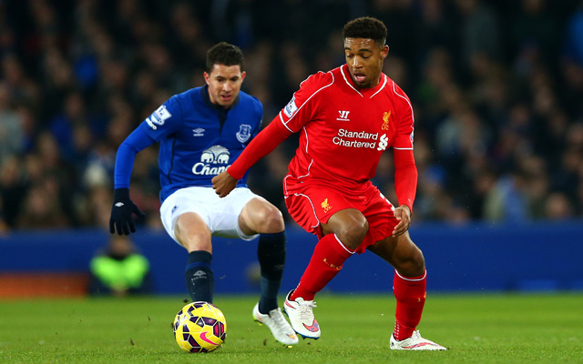 (Video) Post! Jordon Ibe almost becomes an instant Liverpool hero with superb effort against Everton, how good is he going to be?