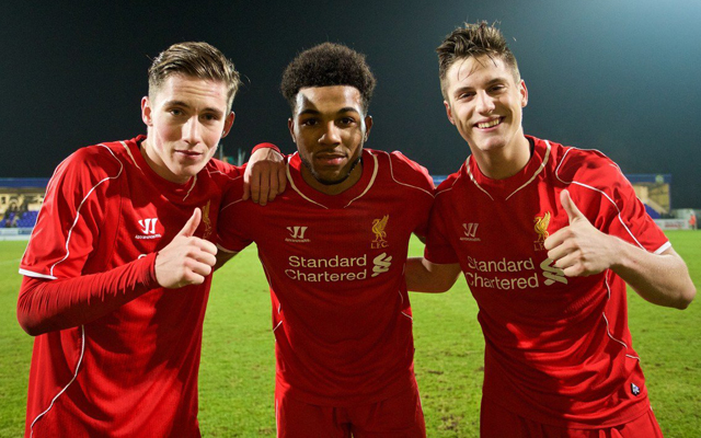 Meet the five Liverpool Youth Team players who have travelled to Besiktas