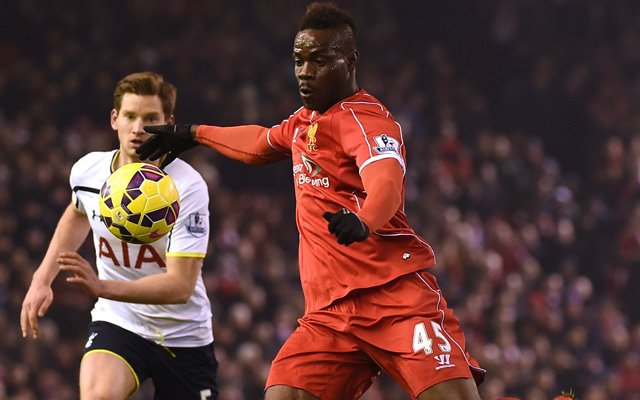 (Image) Does this suggest Mario Balotelli will be starting against Crystal Palace?