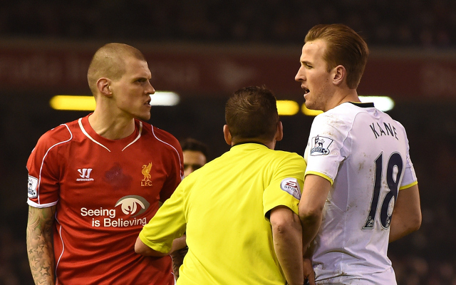 (Video) Martin Skrtel showed Harry Kane exactly who's boss last night!
