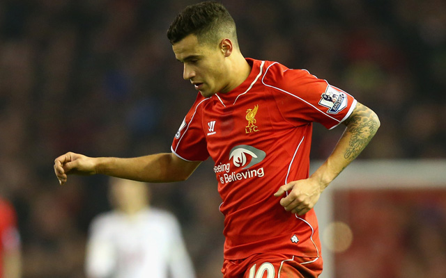 Liverpool predicted XI v Manchester City – Philippe Coutinho among three Reds stars to return