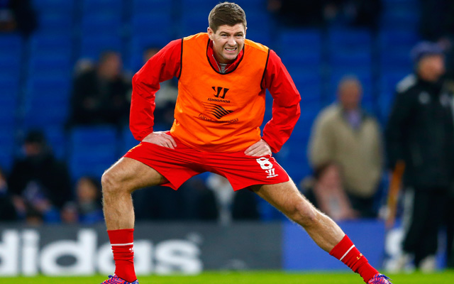 Rodgers expects record-breaking Steven Gerrard to feature against Bolton