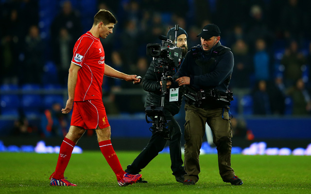 Steven Gerrard hamstring injury will see him miss cup clashes and crucial Premier League ties