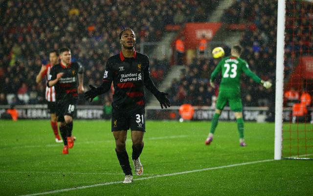 (Video) Raheem Sterling pounces to make it 2-0 v Southampton!