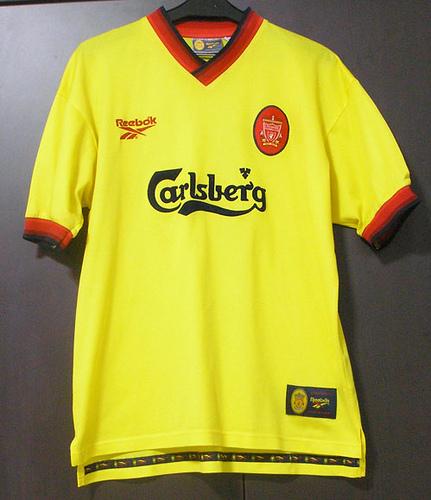 ae442eb0bcb Top ten most stylish Liverpool kits from Premier League era