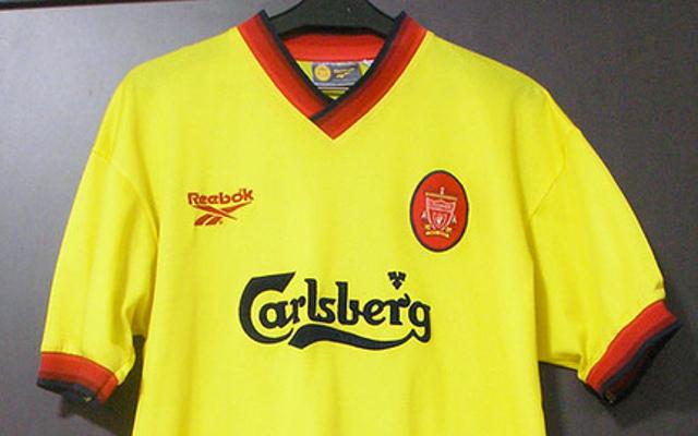 Top ten most stylish Liverpool kits from Premier League era