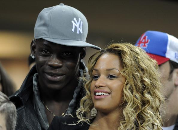 2) Mario Balotelli & fanny neguesha