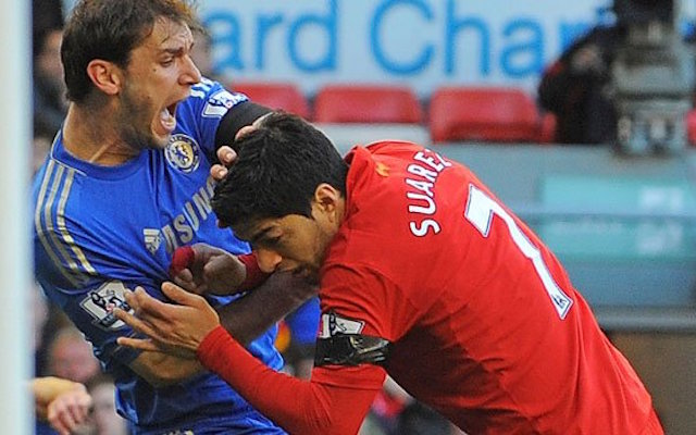 Carragher explains how Suarez initially lied about biting Ivanovic
