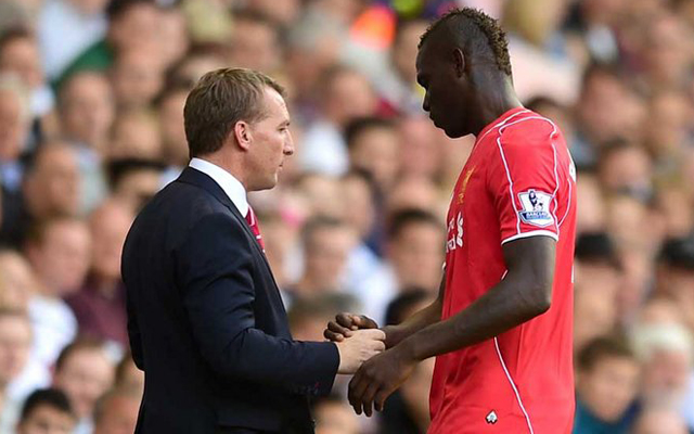Rodgers tells Balotelli he doesn't want him, makes Mario train alone
