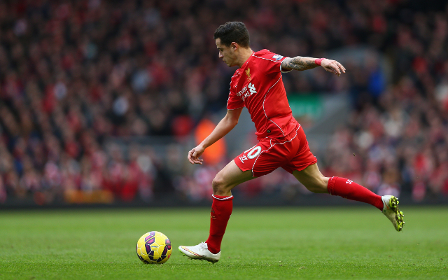 (Video) Poetry In Motion: Coutinho Wonder Goal Against Man City Captured In All its Glory