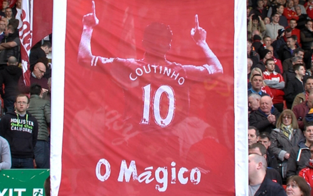 Unlike other Brazilians, Lucio's comments about Coutinho will delight Liverpool fans