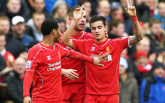 Liverpool fans name their ten most valuable players – 99.1% rating for Coutinho