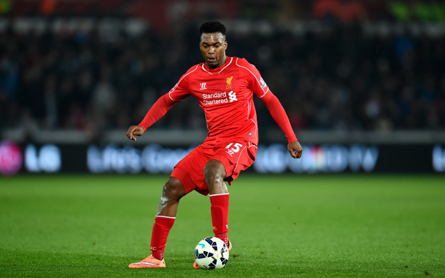 Liverpool's team v Norwich – Rodgers reverts to diamond with Sturridge up top