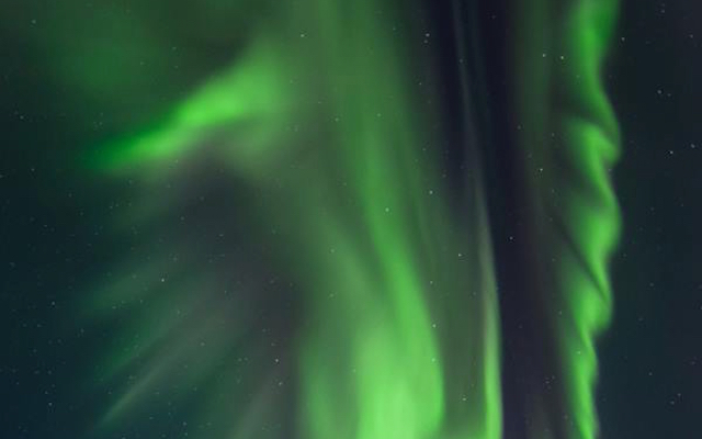 Iconic Liverpool 'Liverbird' symbol appears in Northern Lights