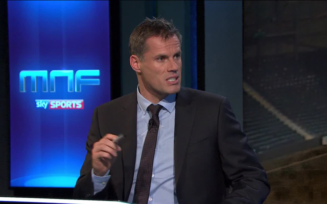 Carragher names his PL top four, and in exact order (leaves out Arsenal…)