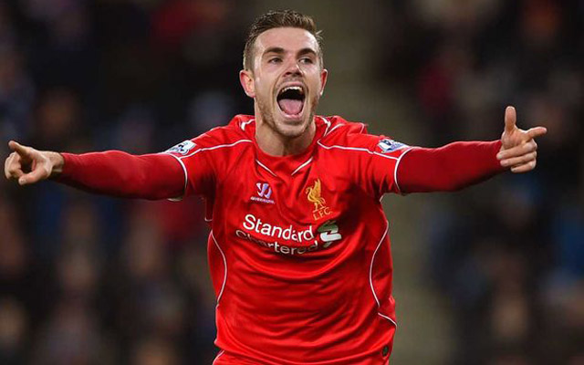 (Video) Goal! Jordan Henderson wonder strike puts Liverpool ahead – how good is this?