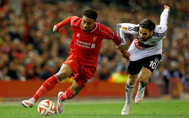 Jordon Ibe impressively 5th in Liverpool's 'Top 10 pass completion percentage' table