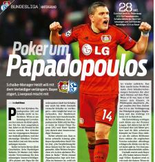 Kyriakos Papadopoulos Newspaper
