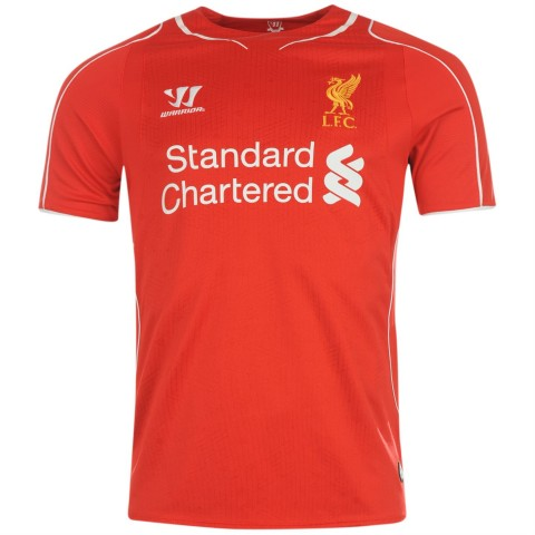 Liverpool 2014-2015 home kit