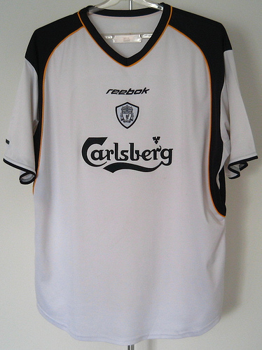 more photos 8ba08 a7f5a Top ten most stylish Liverpool kits from Premier League era