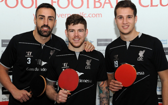 (Video) Here they go again… Watch Liverpool's table-tennis tournament in full
