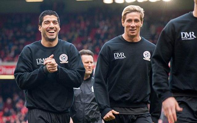 Liverpool fans react to Fernando Torres & Luis Suarez being back at Anfield…