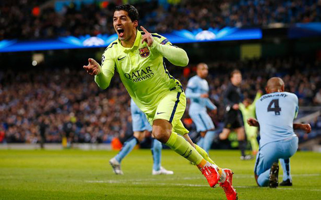 British press claim ex-Liverpool star Luis Suarez could move to Man City for £100m!
