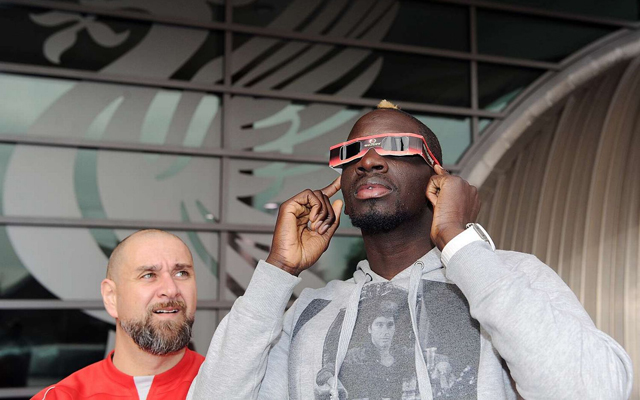 Picture: Grinning Sakho looks completely unconcerned by doping saga as he arrives at Melwood