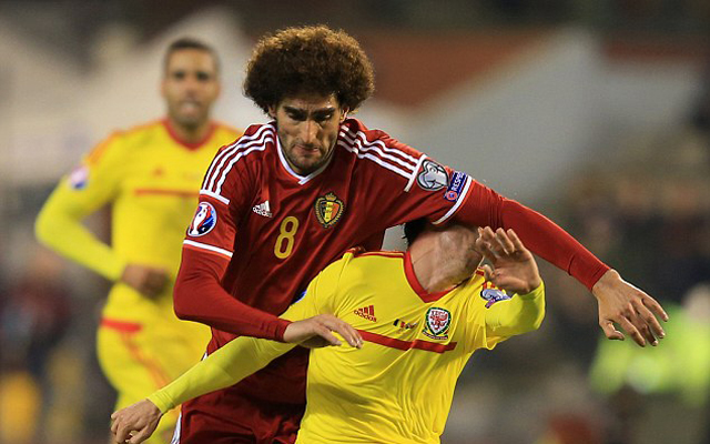 Manager warns Man United's Fellaini that Joe Allen will get him back in Cardiff!