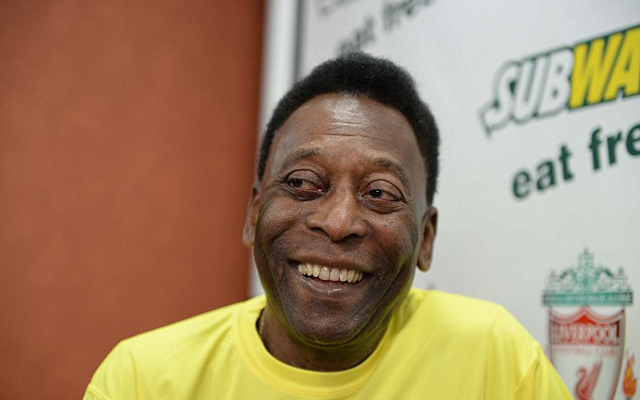 (Video) Love it! Pele meets Brendan Rodgers and talks Philippe Coutinho