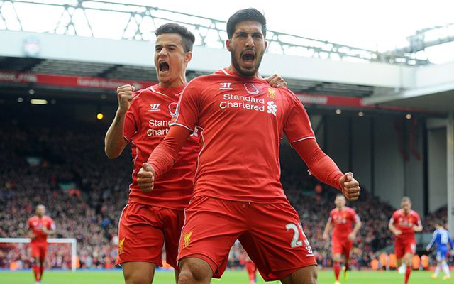 Philippe Coutinho Emre Can