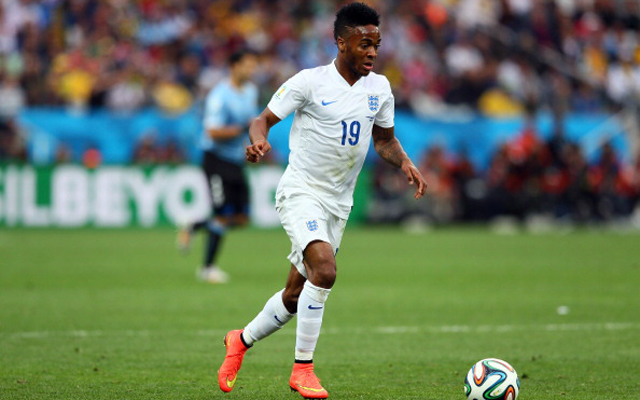 (Video) Raheem Sterling scores for England, showing no signs of rumoured toe injury
