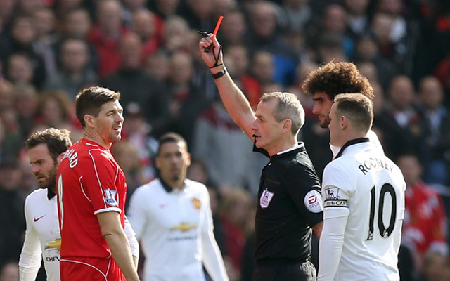Bruce Grobbelaar tries to explain Steven Gerrard red card v Man Utd