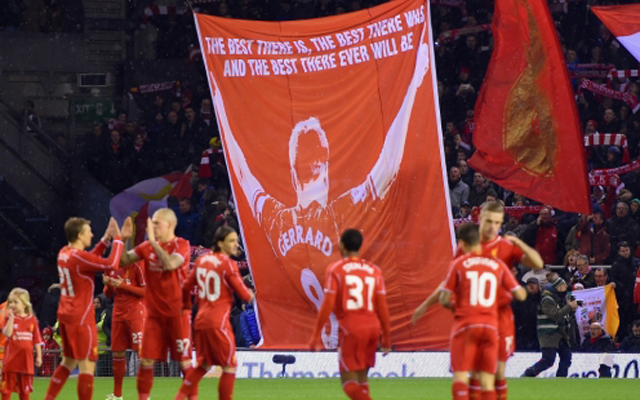 Steven Gerrard reveals that incredible Liverpool fans almost made him cry with new banner