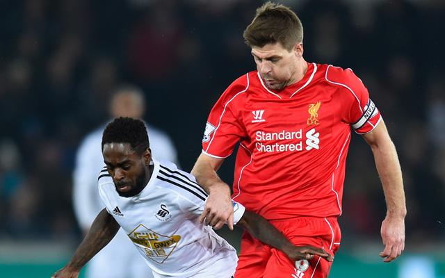 Liverpool v Manchester United confirmed teams: Daniel Sturridge starts, Steven Gerrard only on the bench