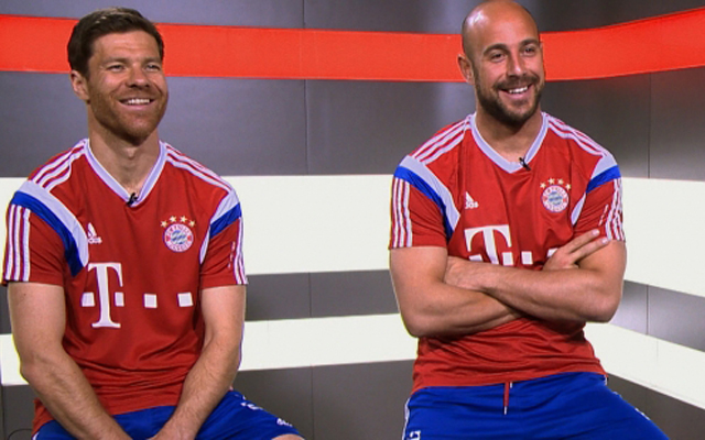 Xabi Alonso and Pepe Reina thrilled to be playing at Liverpool one last time