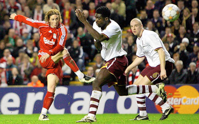 (Video) On this day… Liverpool 4-2 Arsenal puts Reds in Champions League semis