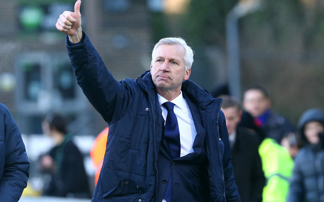 Pardew names the Liverpool player he'd love to have pre crunch evening clash
