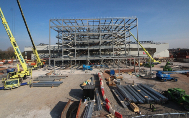 (Image) Liverpool continue impressive progress with Anfield redevelopments