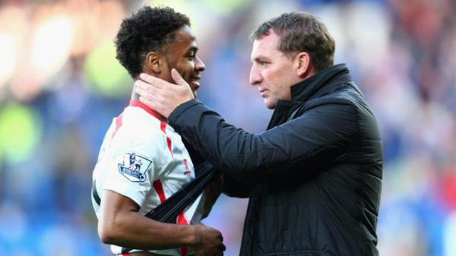 Raheem Sterling 'not going anywhere this summer' promises Liverpool boss Brendan Rodgers