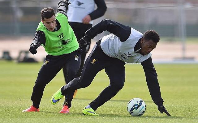 (Images) Daniel Sturridge has returned to Liverpool training