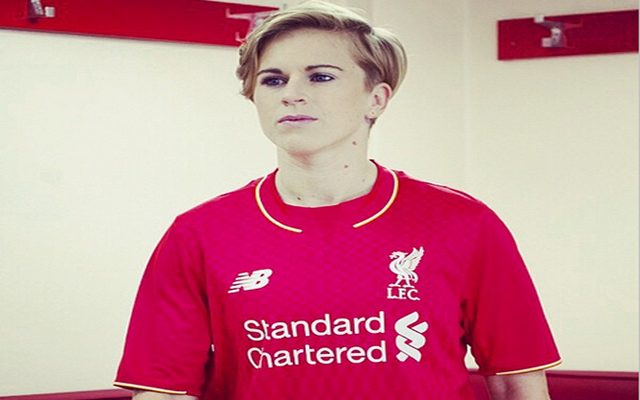 (Images) Coutinho, Lazar Markovic, Raheem Sterling & Natasha Dowie model new Liverpool kit