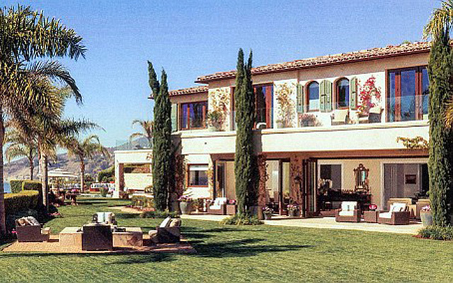(Images) Pictures emerge of Steven Gerrard's new £16.8m Malibu home