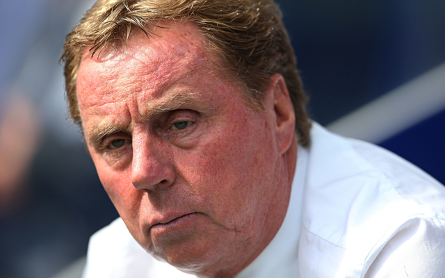 Harry Redknapp reveals Liverpool would have been his 'dream club'