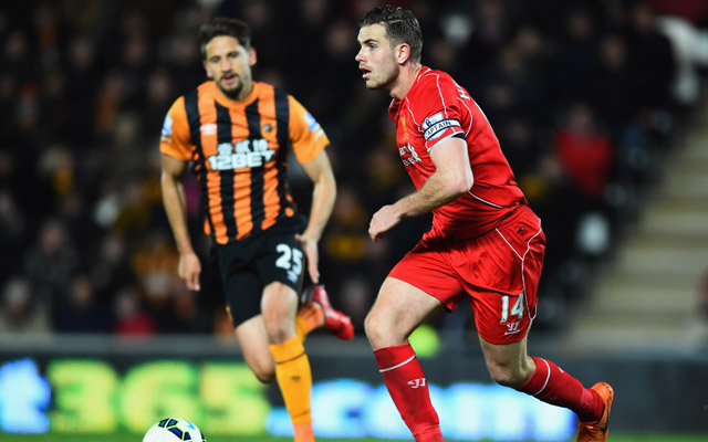 Jordan Henderson slams 'sloppy' Liverpool after Hull heartbreak