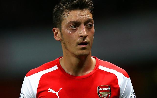 (Video) Mesut Ozil's sensational free-kick puts Arsenal two ahead v Liverpool