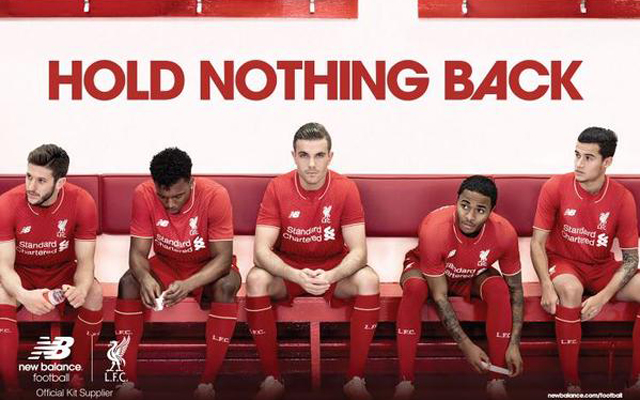Contract rebel Raheem Sterling helps model Liverpool's new kit